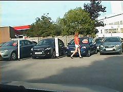 Zoe tranny whore at the Used Car Centre