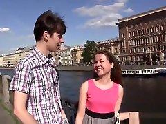 European teenager Rita & Kevin taking part in hard core domina sklavin gefickt