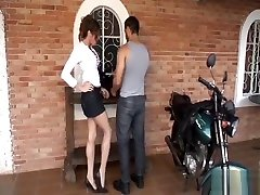 MY SECRETARY IS A SECRET lady-boy 1 - Scene 1