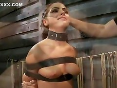 BDSM two slaves punished video featuring Adriana Chechik and Claire Adams