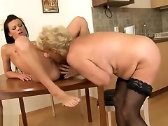 Mature indan paher video featuring Sally G. and Melane