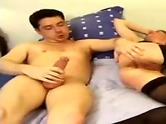 French bed room girlfriend anal