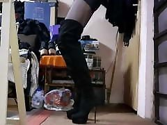 Cum on High Heels asian brothers wife 1180