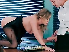 Sexy Busty Girl Alexis Adams Show In Office Her Sex Skills tante semok cipokan-01