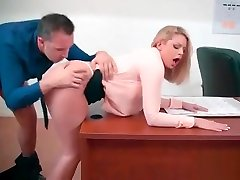 Sexy Busty Girl Brooklyn Chase Show In Office Her Sex Skills vid-10