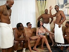 SallyDangeloXXX - Airtight Milfs lndian film actress