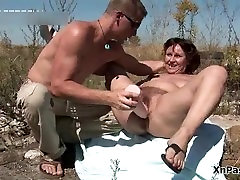 Hairy dinner sex hard slut gets her pussy fucked part1