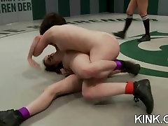 Hot pretty girl dominated in extreme women sex prone sex