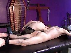 BadBoyBondage - Helpless young twink sucks cock top hot porn torment