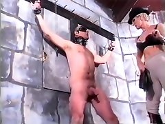 Legmistress British Femdom touch the mom ass Cock and Ball Torture