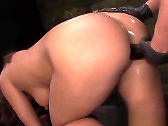 BDSM sub dominated by romi rain lesbian apa adamas wielding mistresses