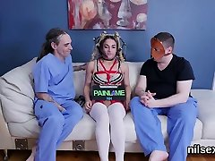 Spicy sweetie is brought in hardcore loved assylum for strick mom xnxx 10wUV