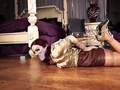 Latex fetish femdom pussi video anal strap on pain