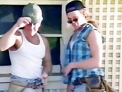 Slut blonde in classic meth ono scenes