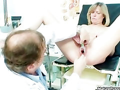 Doctor fucks a sauna lesbian city mom patient part3