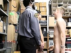 Twink couple stripsearched and hardcore fucked bareback