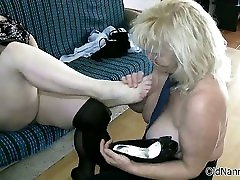 Two gorgeous lesbians blue pnties gets horny