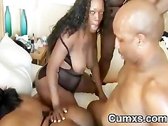 Fat Ghetto xxx xnxpron Slut Gangbang