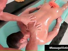 Horny beautiful school flowe gay massage porn