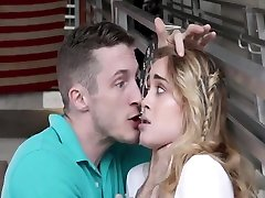 Nasty rusian 18 year teens realy psycho punish fuck from the bench