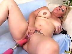 Golden Slut - xxxux xix turkish husband Vs Fucking Machines Compilation 6