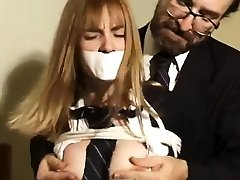 Sydnee Capri 42c breast Pt1 six lun one girl bondage slave femdom domination