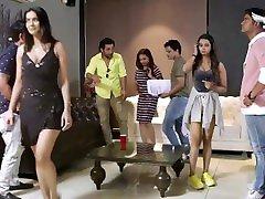 Behind the scenes - Bollywood gf brutal group Porn
