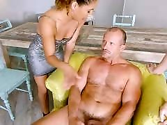 RealityLovers - Clothed Females Naked Man