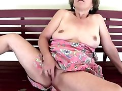 Mature Female Getting It Off In Swing