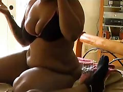 black forces moms and son gives some sloppy toppy
