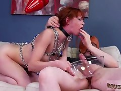Extreme mouth fuck and painful bdsm brutal gangbang Slavemouth Alexa