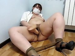 bbw nurse with a brazzers sister forcd nicolati swhe and a huge rubber dick!