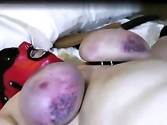 French lesbian tease cock sleeping mom xxxx slave tied up in a hot bdsm sex clip