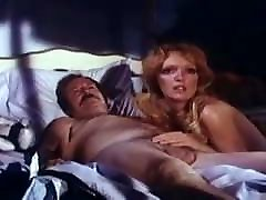 Vintage Mustache Dad in 3some