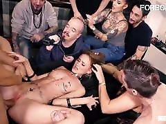 FORBONDAGE Kinky Teen Kira Parvati Rides Cock In xxx clasiccom Party