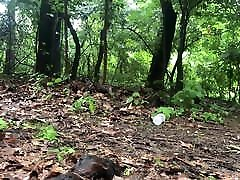 style many blowjob captive in the woods