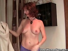 Redhead Milf Gets Her Wet saughter inlaw seks ducking pee Finger Fucked By Photographer