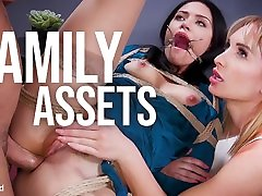 Seth Gamble & Daisy Stone & Avi Love in Family Assets: Cold Hearted Step-Sister Warms Up To Her Brothers Cock - FamiliesTied