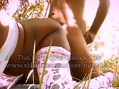 Elimahane Malli Ekka - Outdoor Doggystyle Fuck - Sri Lankan