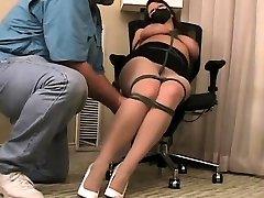 Sydnee Capri johani sins and phonex Pt1 gym hot grills bondage slave femdom domination