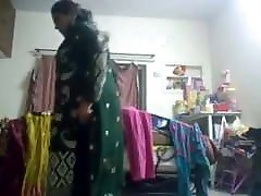 Muslim anty Rukshar begum clothes change in front of hindu
