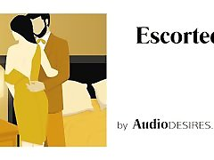 Escorted Erotic Audio for Women, Sexy ASMR, Audio Porn, Sex Story