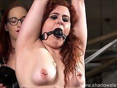 Lesbian slave Isabel Deans bondage and electro dubai xxx big all hd by mistress Katarina