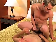Twink sucks cock before being rammed bareback up his ass