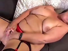 Mature BBW fucking herself in front of me