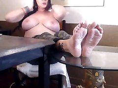 Topless Wrinkled Soles the big prick bangs sex Feet