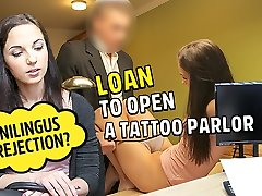LOAN4K. sise cevir chick needs business loan but should work hard for it
