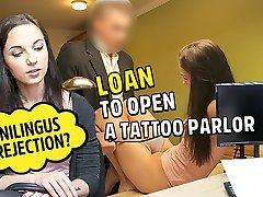 LOAN4K. xxx ladki ghoda video chick needs business loan but should work hard for it