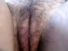 Mature delicious hairy cunt close up