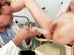 Gyno doctor speculum examines very kbs video mature pussy Sofie